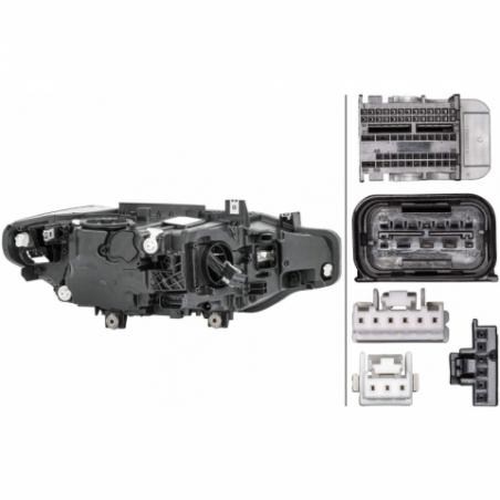 BMW F30 Lci Sol Led Far Hella Orjinal 1EX 012 102-911 63117419633 - 3