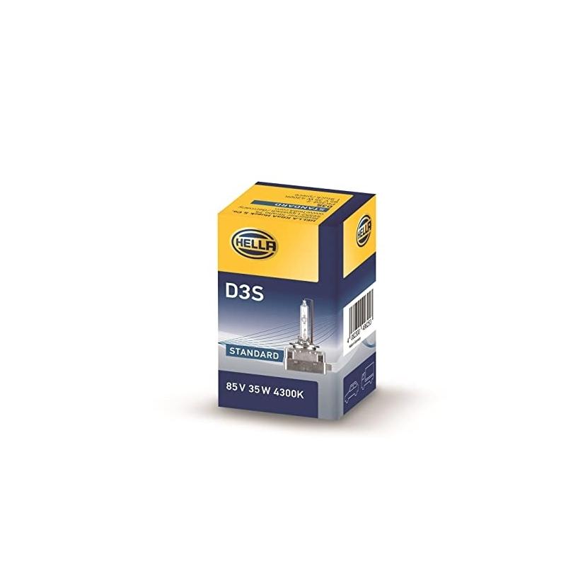 Hella D3S 4300K Orjinal Xenon Yedek Ampul 8GS 009 028-311 - 1