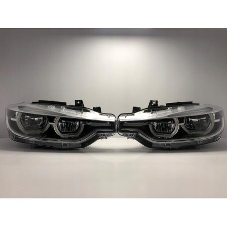 BMW F30 Lci Sağ+Sol Takım Led Far Sıfır Orjinal 7419633 7419634 - 1
