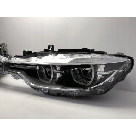 BMW F30 Lci Sağ+Sol Takım Led Far Sıfır Orjinal 7419633 7419634 - 3