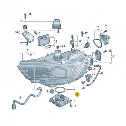 Audi A3 Matrix Led Far Beyni - 7PP941592CB - 3