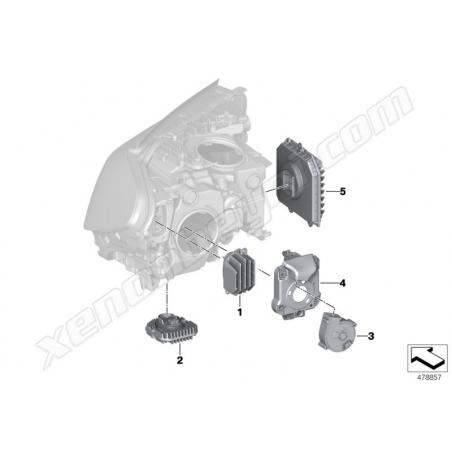BMW G30 Sol Sinyal Led Modulü - 5