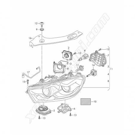 Volkswagen Scirocco Led Far Beyni - 5